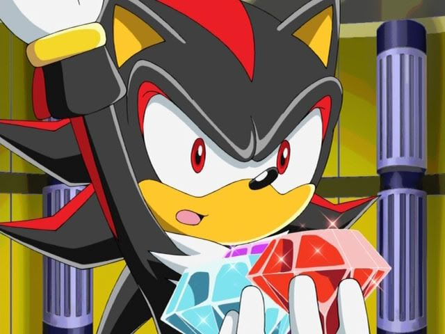 Shadow The Hedgehog From Sonic X Episode 35 So That S What The