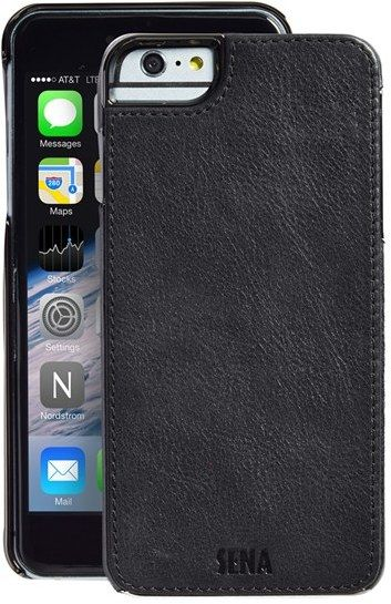 Sena Heritage Lugano Leather Iphone 6 Plus 6s Plus Case Black Smartphone Tasche Schone Handyhullen Smartphone
