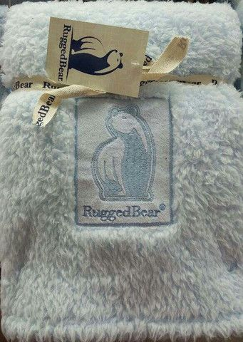 Rugged Bear Brand Baby Boy S Blue Soft Blanket Www Frommaternity2toddler Com