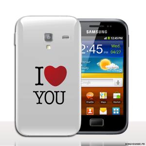 Coque telephone portable Samsung Galaxy ACE 2 Design JTM - Coque antichocs rigide. #Ace2 #Love #Coque #Cover
