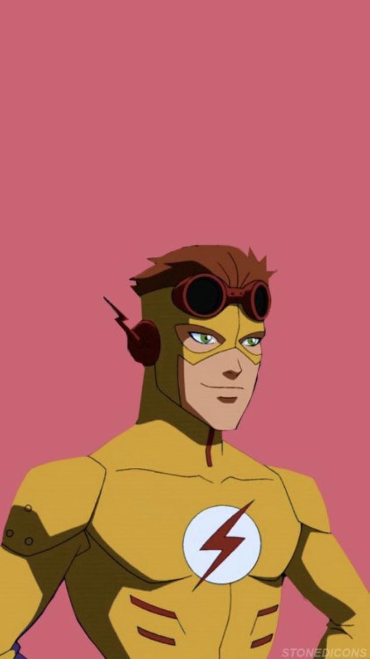 Kid Flash Wallpaper Pink For Phone Flash Wallpaper Young Justice Dc Comics Wallpaper