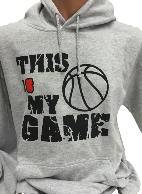 código promocional 580c1 c0885 Basketball Hoodie This is my Game | basquetbol sudadera ...