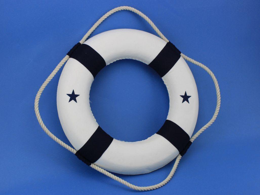 20 Hampton Nautical Lifering Blue