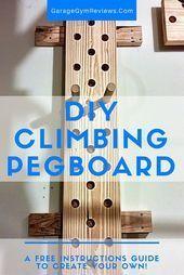 Kreieren Sie Ihr eigenes DIY-Kletterbrett für weniger als 35 US-Dollar! Einfache Anleitung!