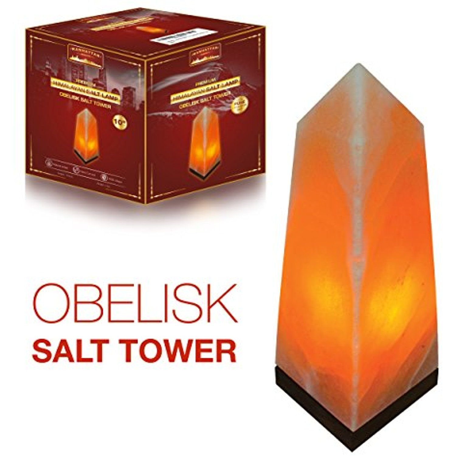 Certified Himalayan Salt Lamp New Manhattan Serenity Himalayan Salt Lampserenity Salt Tower Design Inspiration Design