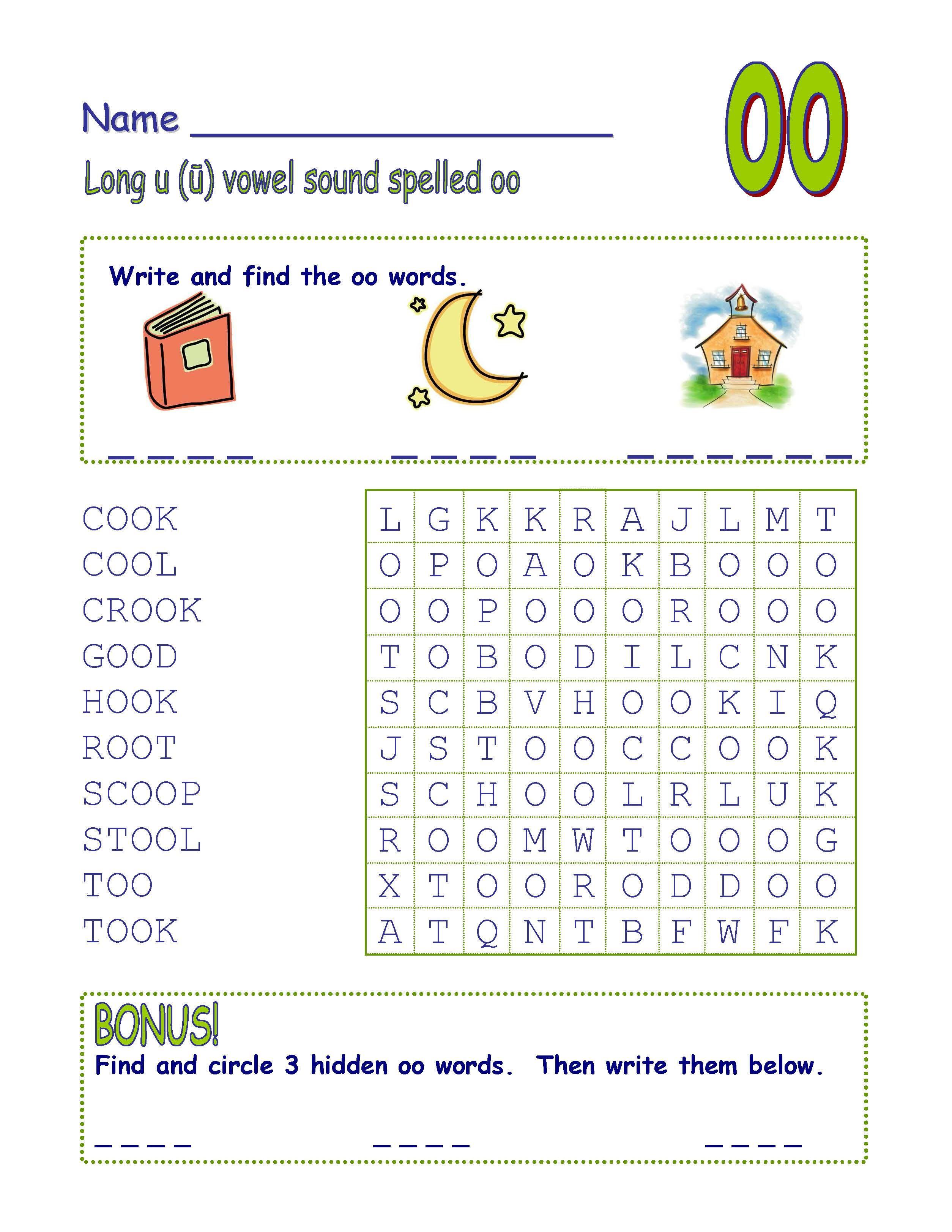 Common Core - Digraph Long Vowel