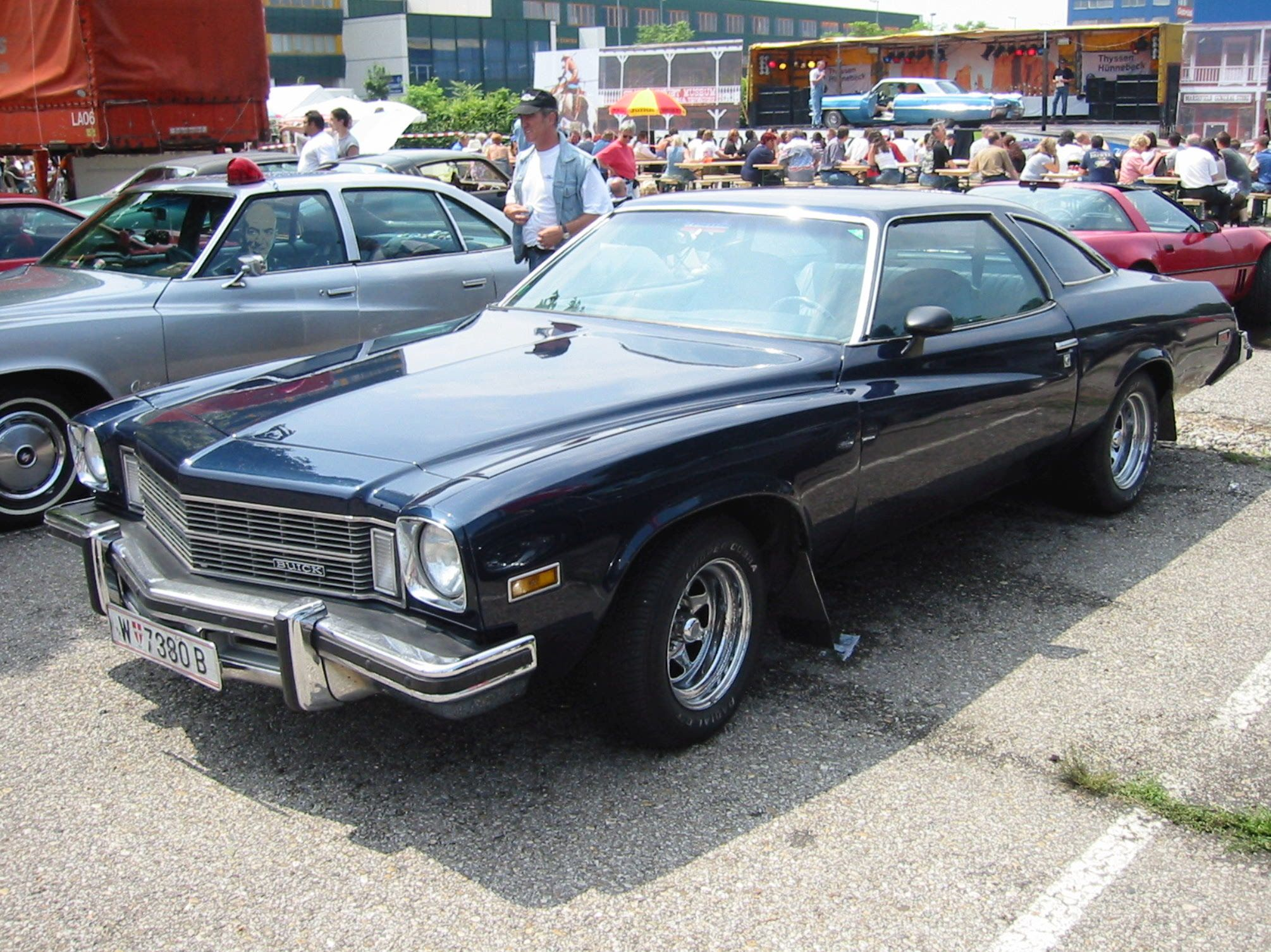 75 buick regal, i used to have one just like this. black with red