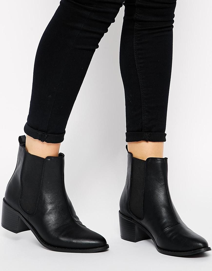 ASOS | ASOS ROAR Chelsea Ankle Boots at