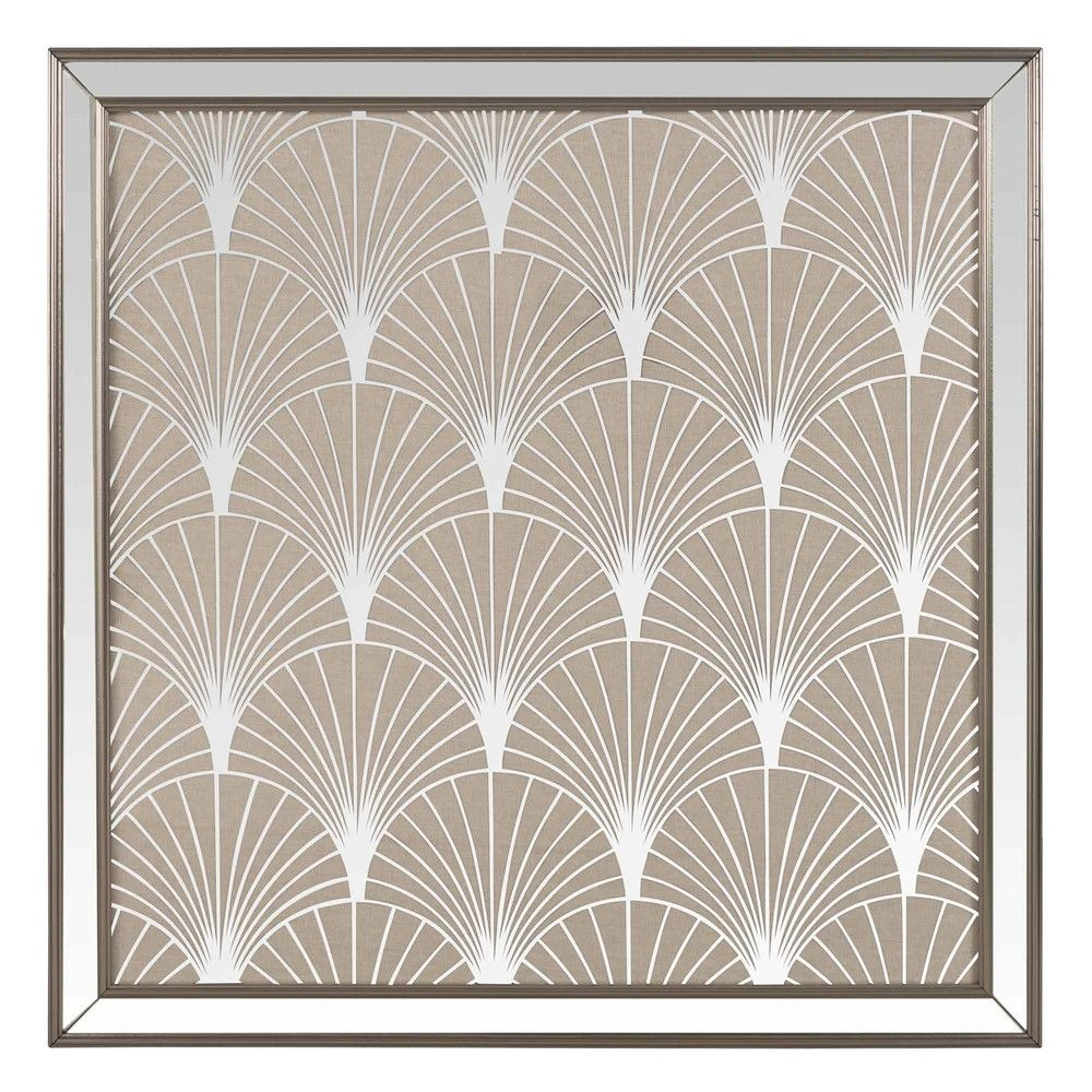 Mirror Artwork With Motifs Art Avenue Maisons Du Monde