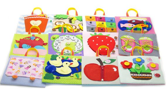 Quiet Book Pages For 2 Year Old Soft Baby Book Buckle