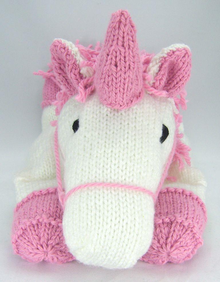 Suki The Unicorn Pyjama Case Knitting Pattern Knit Patterns Toy