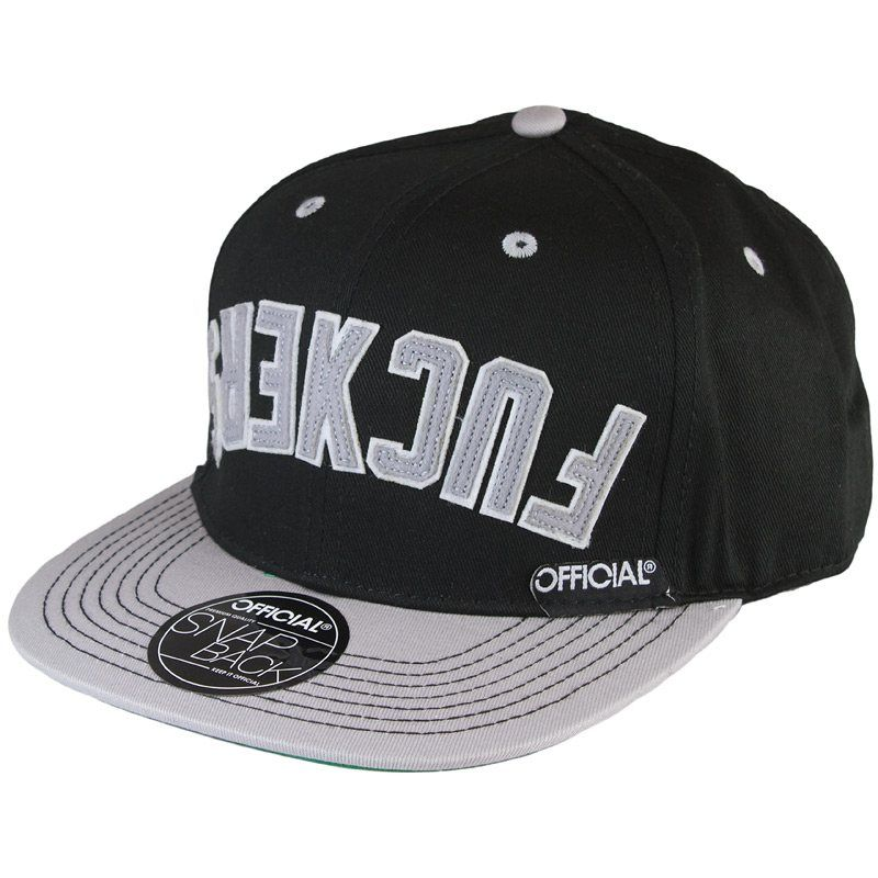 Official Cap Effers Nations black/grey