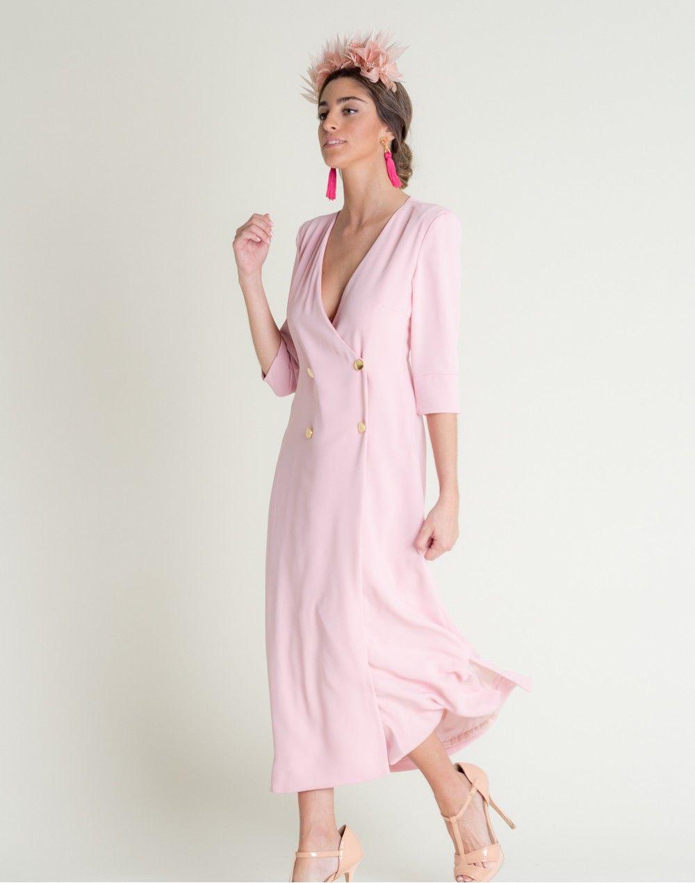 9c31412ba Vestido midi camisero con botones de Dnook Este vestido es perfecto para  llevar a tus eventos