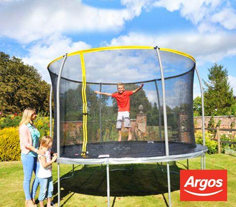 Sportspower 10ft Trampoline And Enclosure 10ft Trampoline