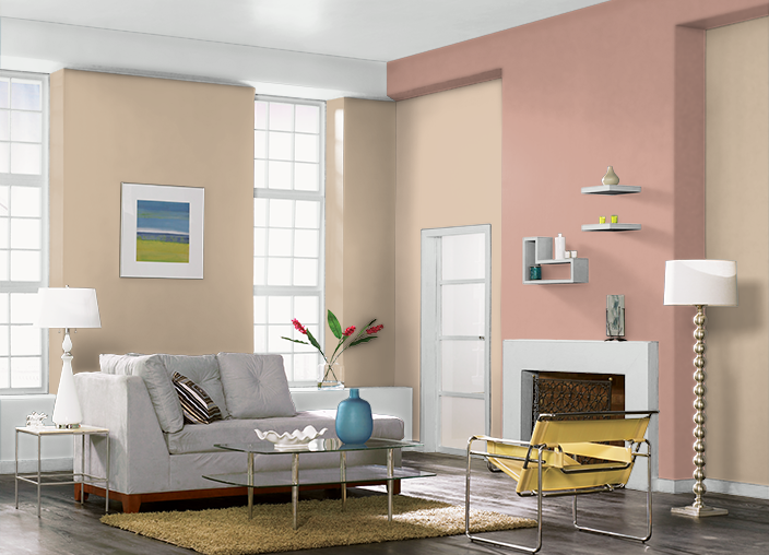 This Is The Project I Created On Behr Used These Colors