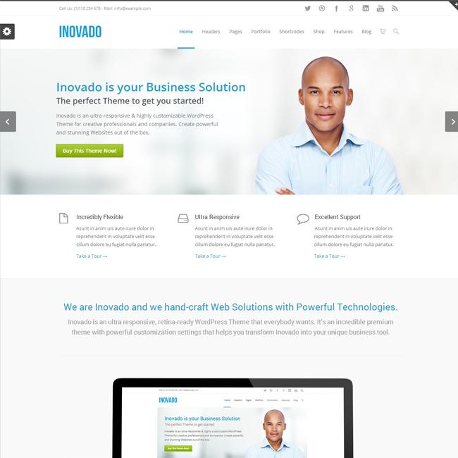 Inovado Responsive MultiPurpose WordPress Theme | Best WordPress ...