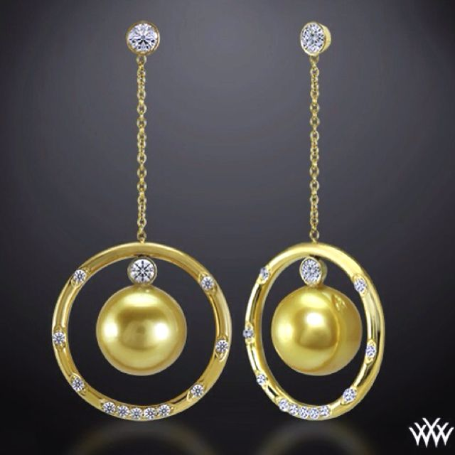 Golden globes and sweet pearls @whiteflash.com
