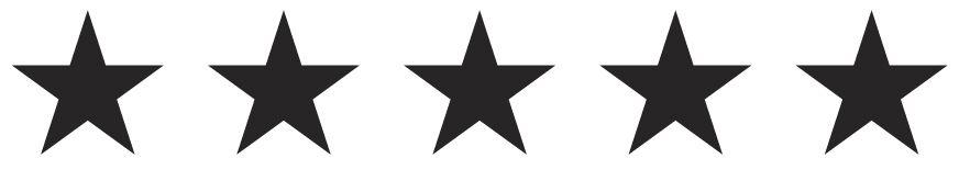 Afbeeldingsresultaat voor 5 star black