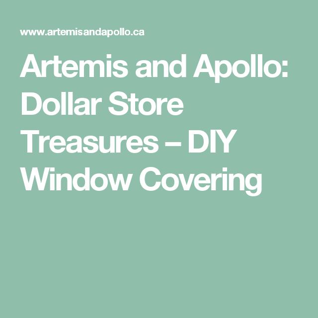Artemis And Apollo: Dollar Store Treasures