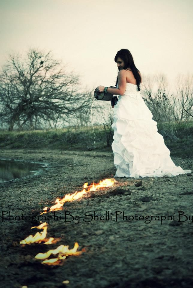 Trash The Dress Divorce Photo Shoot