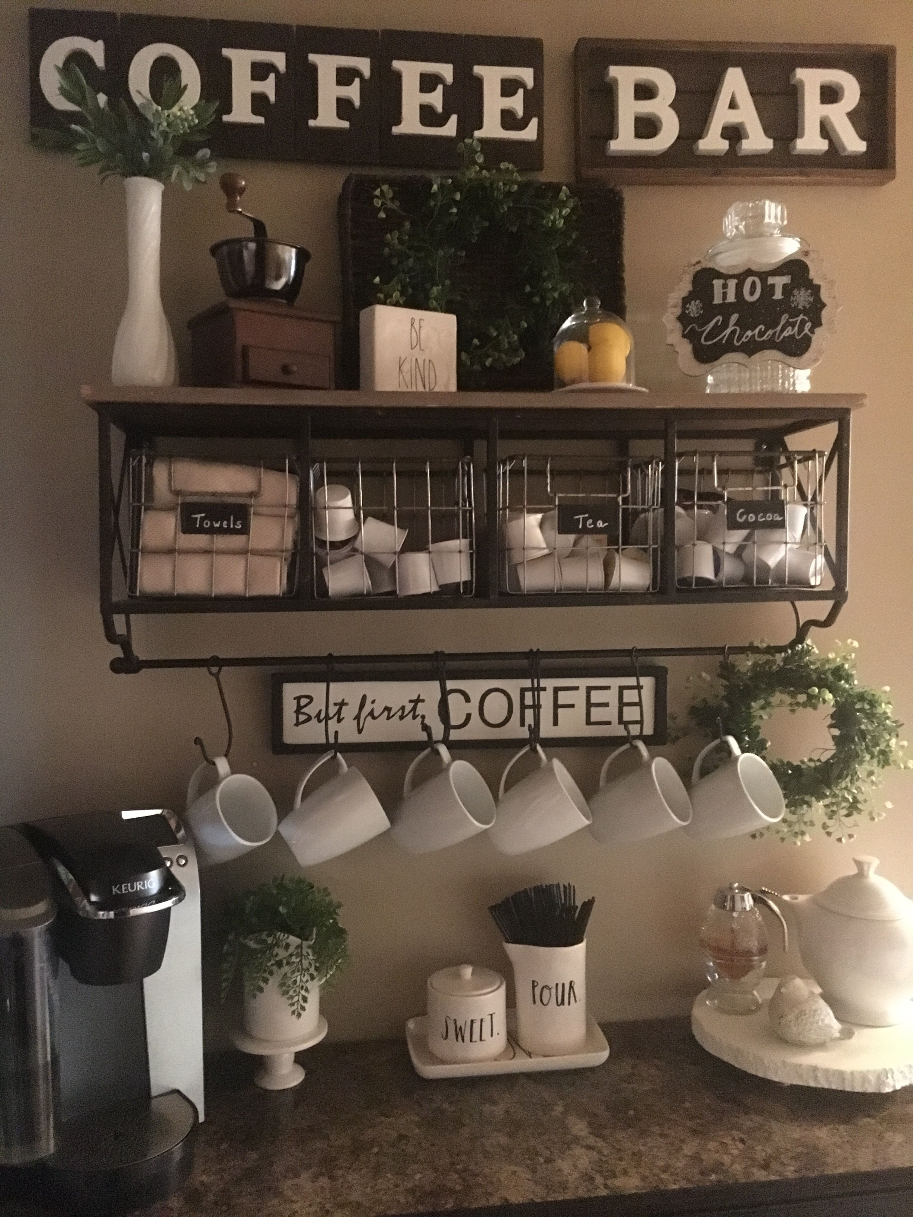 Coffee Bar Ideas Bar Ideas Coffee Station Ideas You Need To