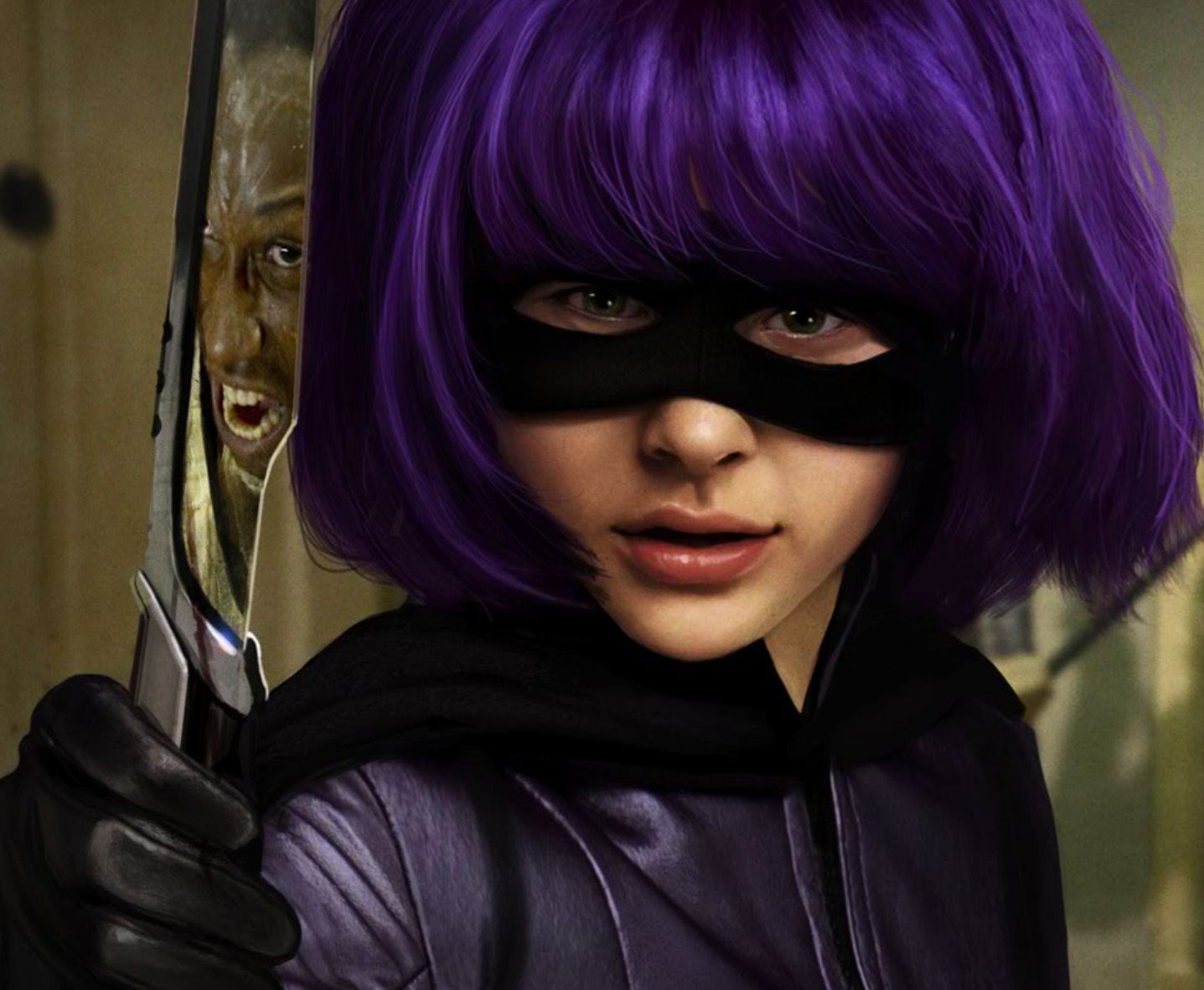 Firmly convinced, Hit girl kick ass