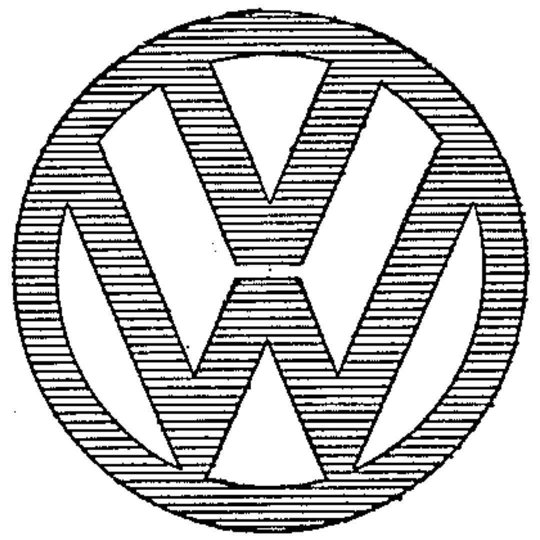 Vw Emblem Registered As Trademark In The Us On This Day In