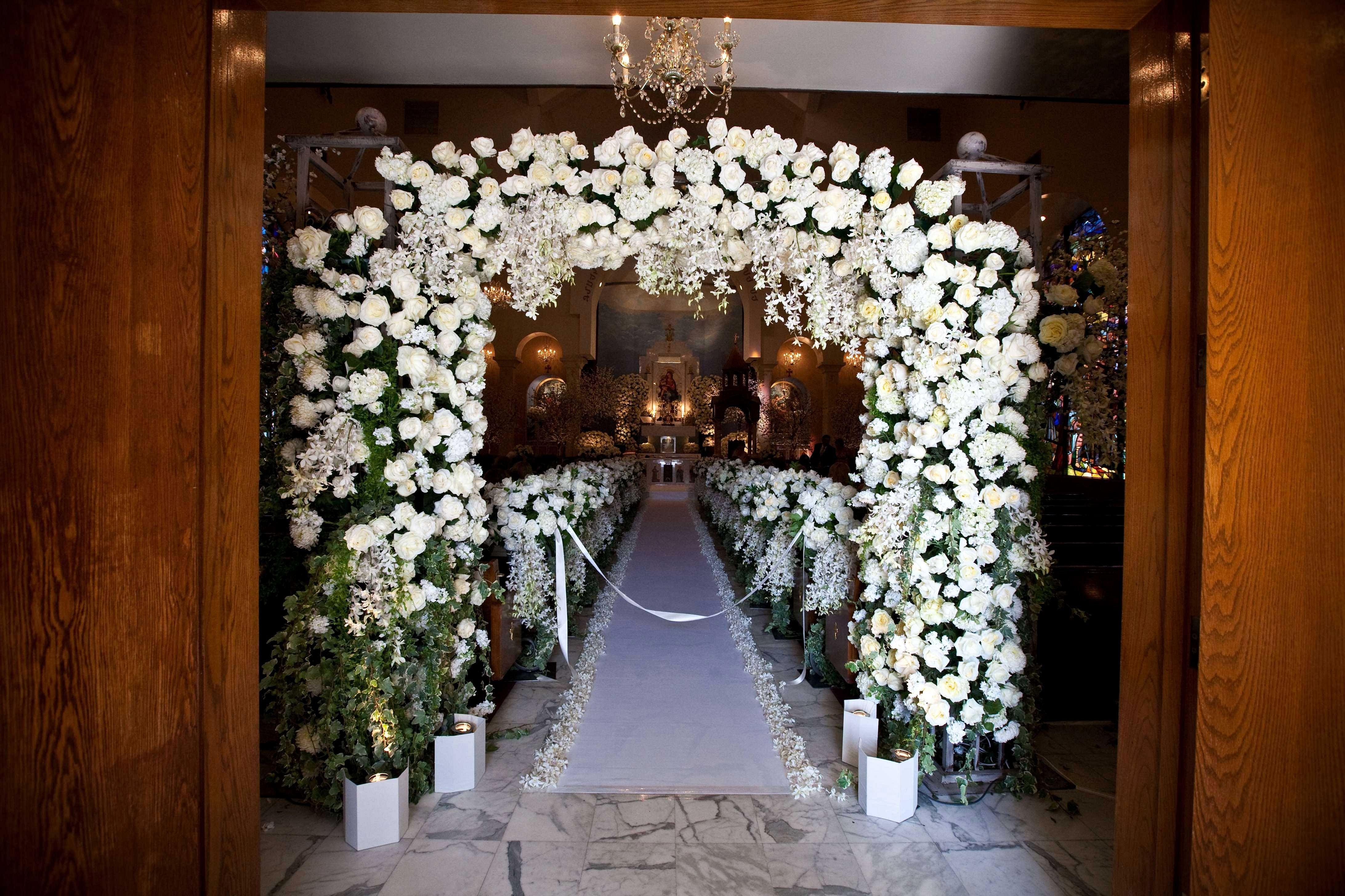 25 Gorgeous Wedding Entrance Design