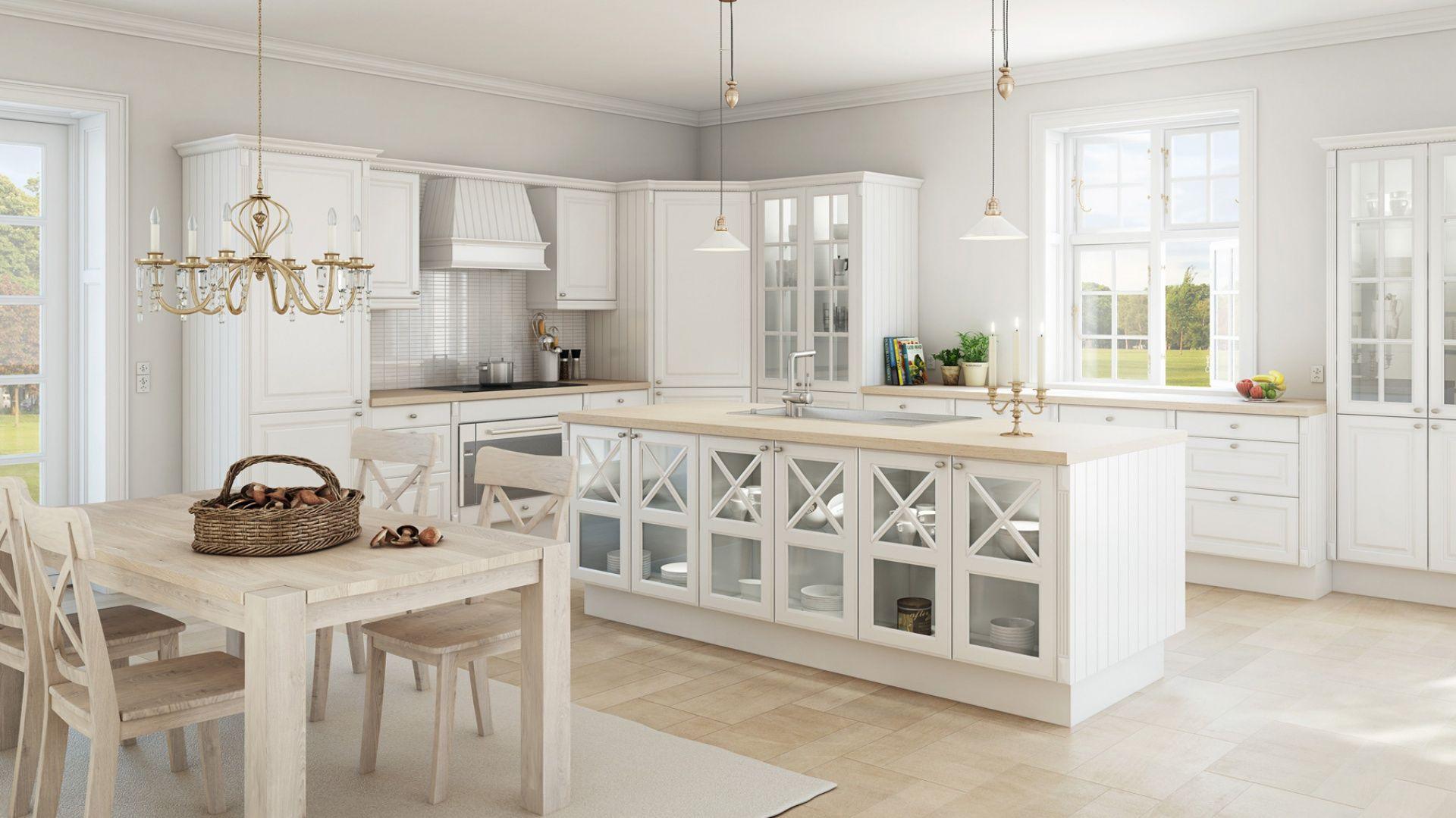 Najpiekniejsze Kuchnie W Stylu Klasycznym Interior Design Kitchen Kitchen Design Home Decor