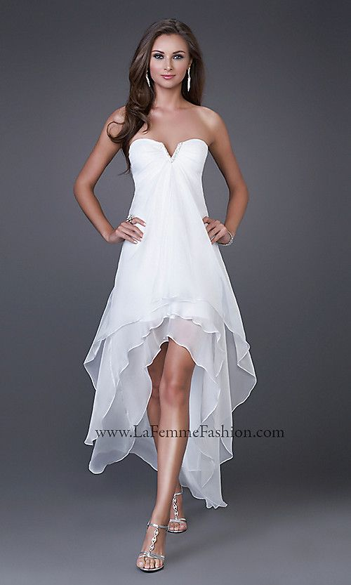 Weddings Vow Renewal Dress I Like The Idea Of A High Low Short