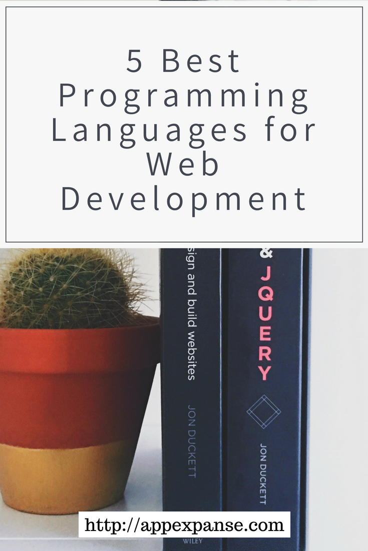 5 Best Programming Languages For Web Development App Expanse Web Design Quotes Learn Web Development Web Development