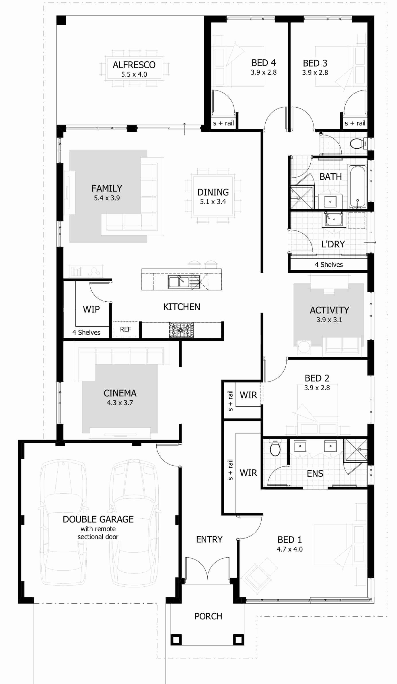 Free 4 Bedroom House Plans Beautiful Four Bedroom House Plan 4 Bedroom House Designs 4 Bedroo Castle House Plans 4 Bedroom House Plans Four Bedroom House Plans
