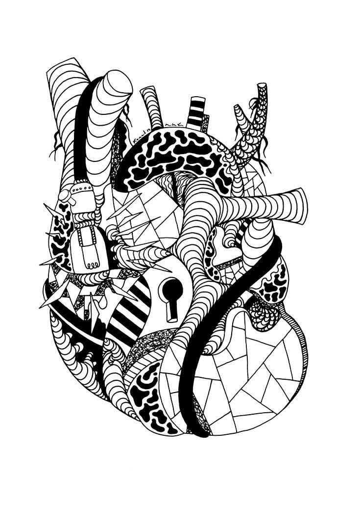 24 Of The Most Creative Free Adult Coloring Pages - Kenal ...