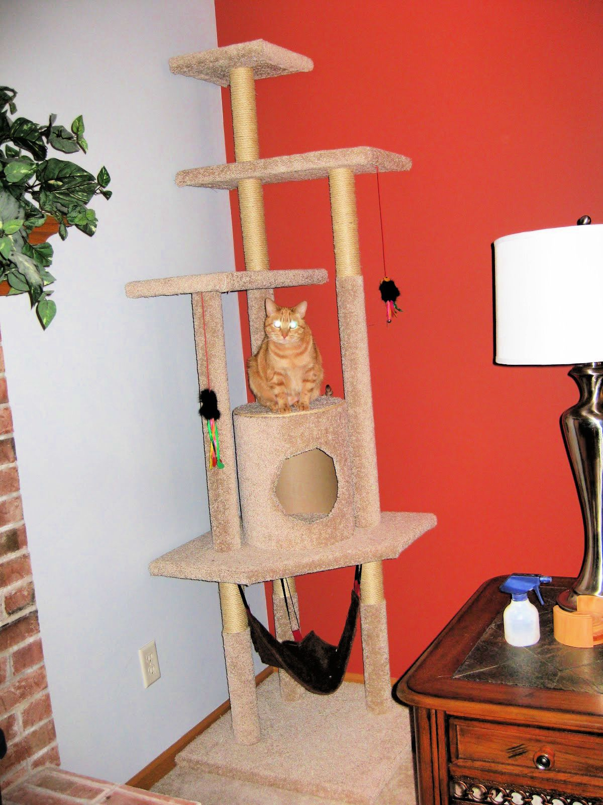 Diy Cat Tree With Step By Step Plan In 2020 Diy Cat Tree Cat