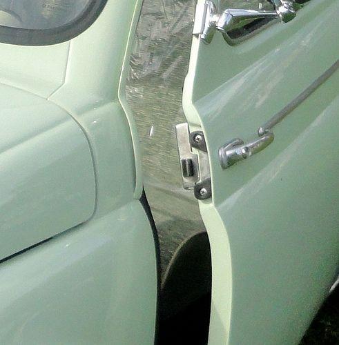 Fiat 500 N D Model 1957 1965 Door Shut Plate Cod N Fjr5 Fiat