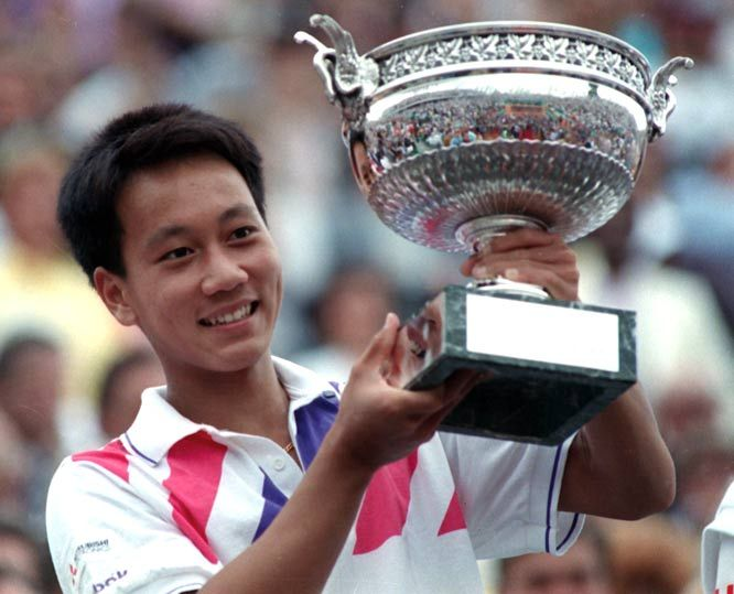 Michael Chang Wikipedia The Free Encyclopedia Michael Chang American Tennis Players Tennis Players