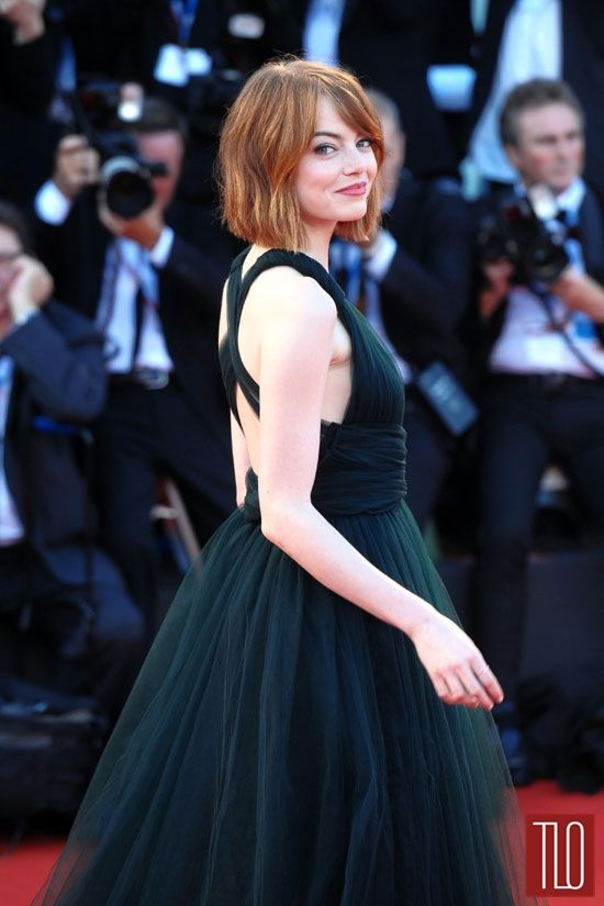 Emma Stone Birdman Movie Premiere Valentino Couture 2014 Venice Film Festival Red Carpet Fashion Tom Lorenzo Si Emma Stone Style Emma Stone New Wedding Dresses