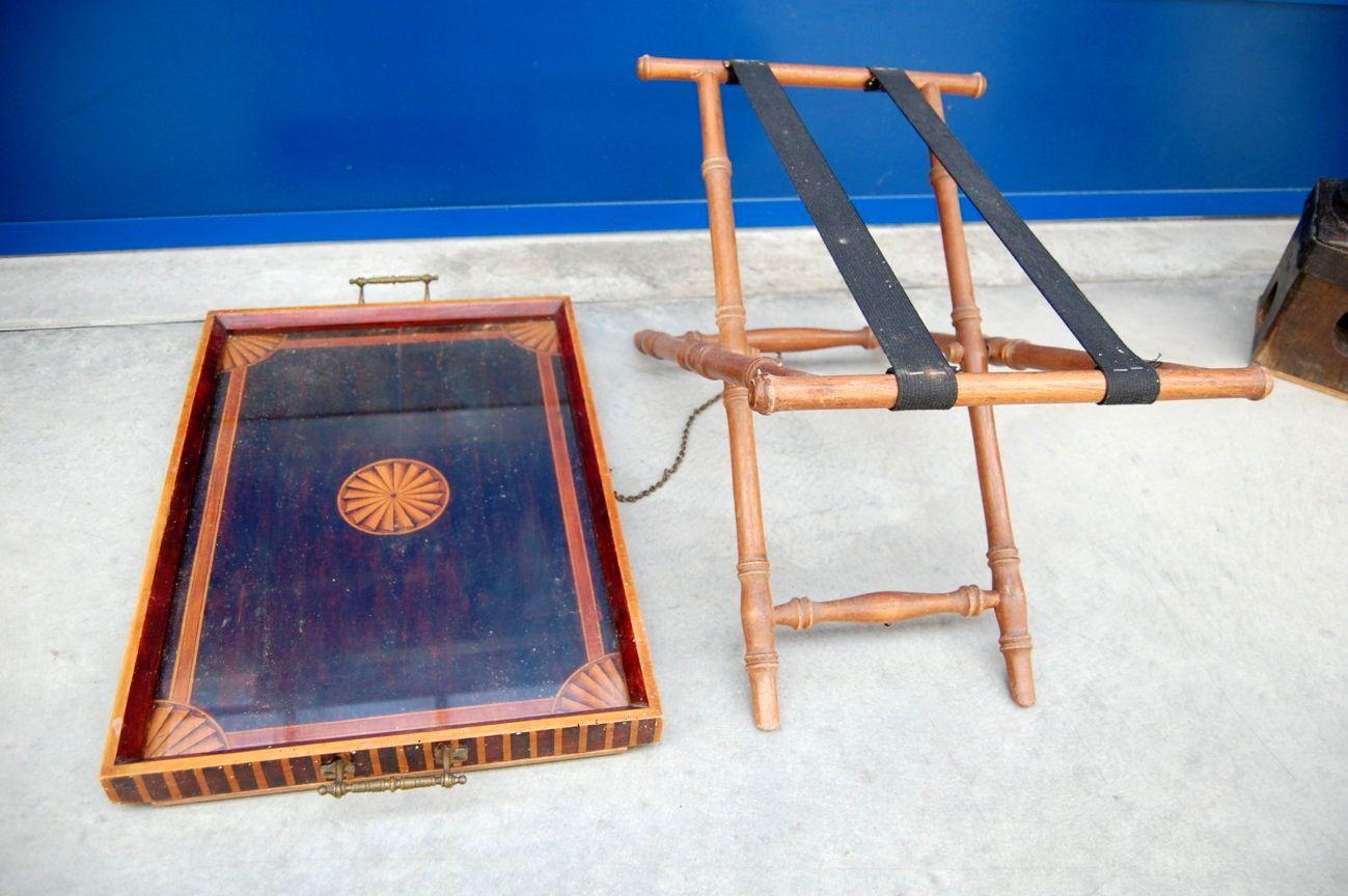 Tavolino Vassoio Pieghevole.Tavolino A Vassoio Pieghevole Napoleone Iii 800 Decoro A