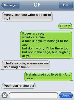 10 of the Most Amazing Breakup Texts