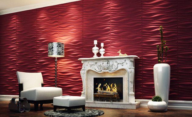 Consejos-para-decorar-paredes-con-texturas- ~* Textured *~ Pinterest