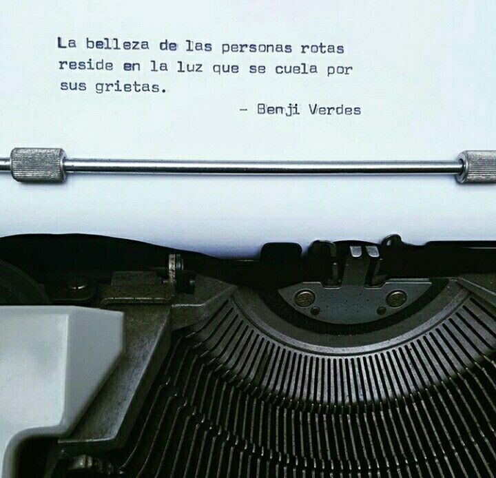 Benji Verdes Citas De Libros Frases De La Vida Y Frases