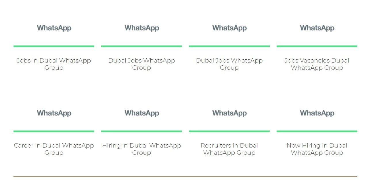 مشاغل در دبی - WhatsApp گروه دبی | Dubai City Company Do you