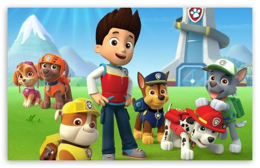 Paw Patrol HD Desktop Wallpaper Widescreen High Definition