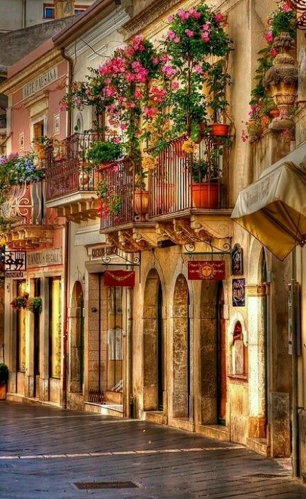 Sicily Italy the color is inspiring