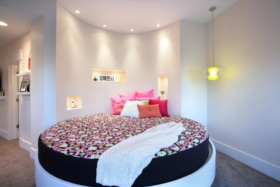 Lit rond – au cœur d\'une chambre au design original | Chambre à ...