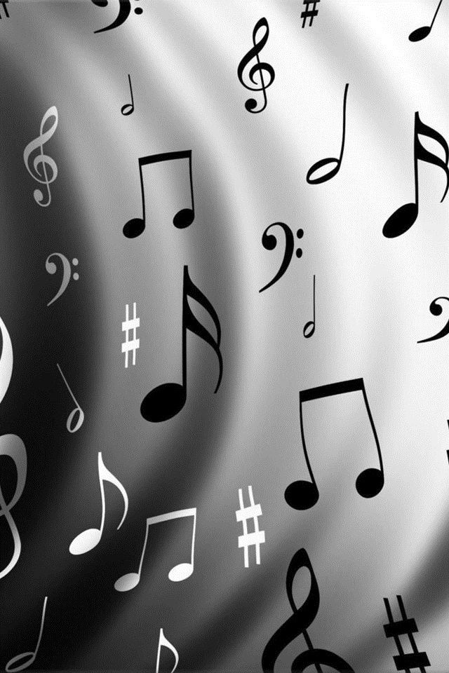 Hd Music White And Black Iphone 4 Wallpapers Wallpaper Iphone 4s