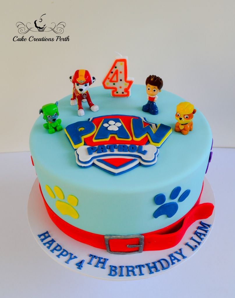 Paw Patrol Cake Decorations For Girl Ideas Toppers Walmart Pan Pops Skye Tesco Asda Designs Waitrose