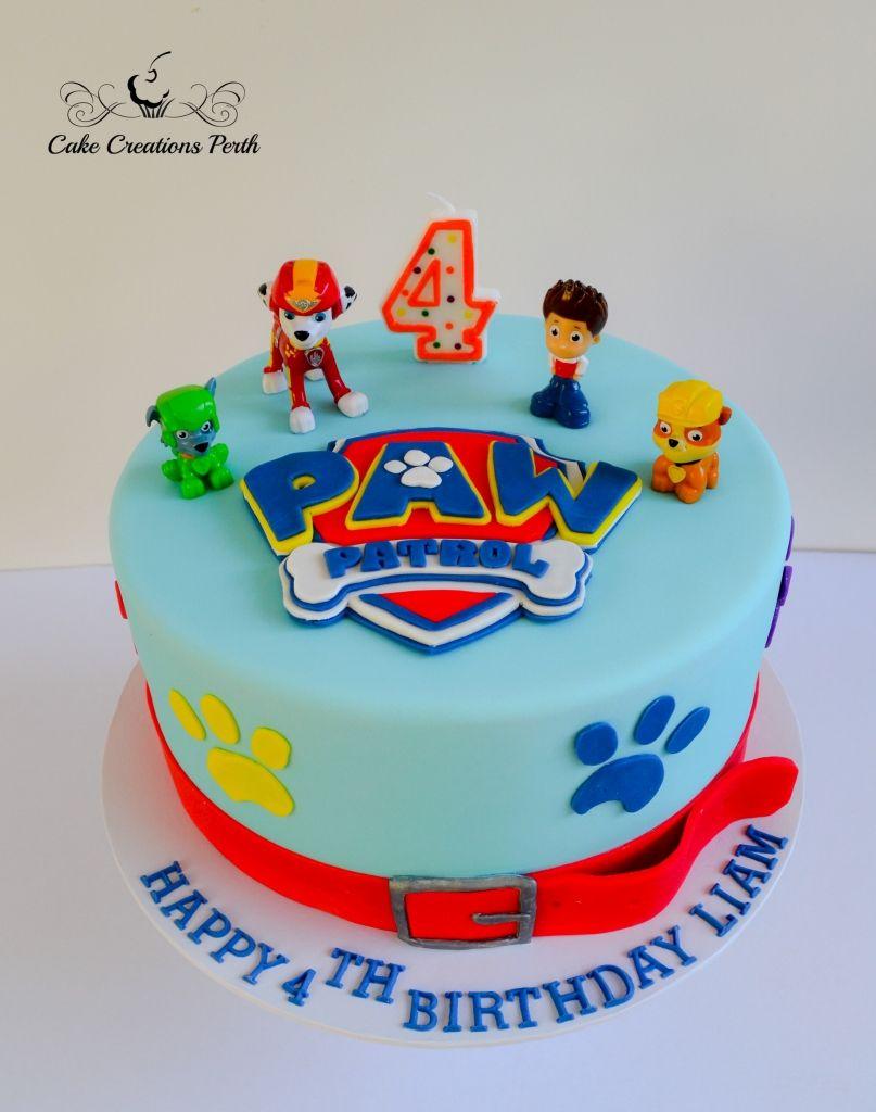Paw Patrol Cake Decorations For Girl Ideas Toppers Walmart Pan Pops Skye Tesco Asda Designs Waitrose