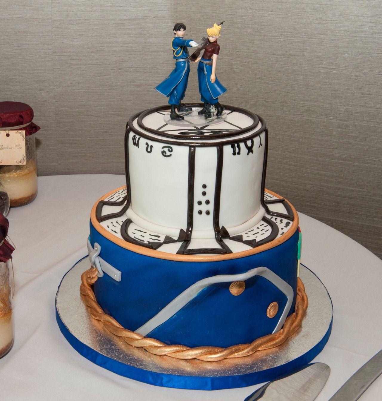 FMA wedding cake Anime cake, Anime wedding, Amazing cakes