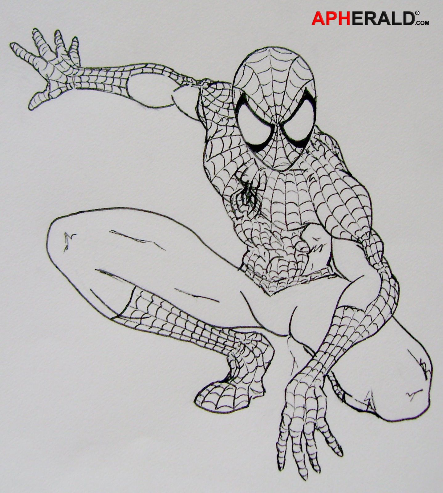 занимают легкие рисунки человека паука карандашом управлением мвд смоленской